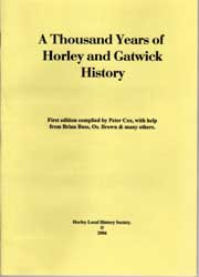 Book: A thousand years of Horley and Gatwick history